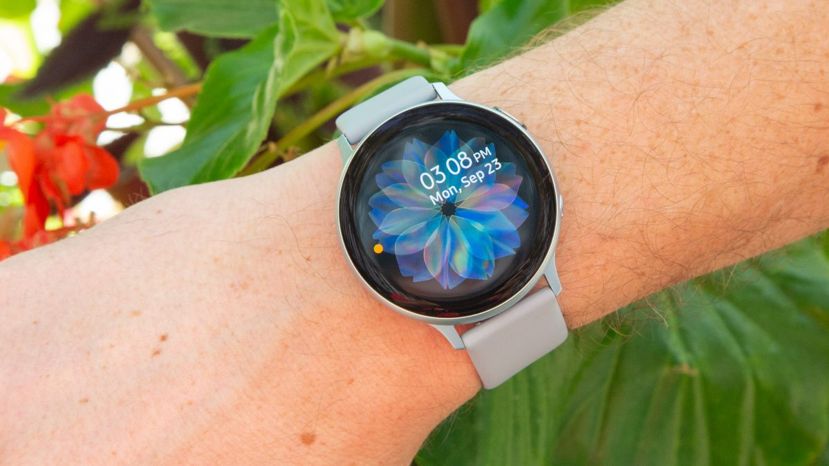 smartwatch with ecg